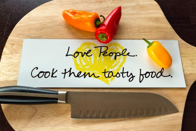 Love People, Cook them tasty food