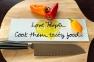 Love People, Cook them tasty food
