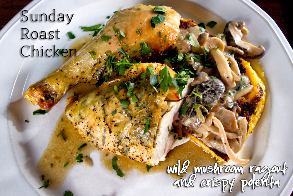 polenta with mushroom wild mushroom ragout with with its powerhouse of ...