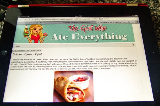 The Girl Who Ate Everything Blog