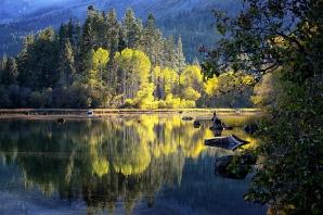 Fall on Fallen Leaf Lake, CA