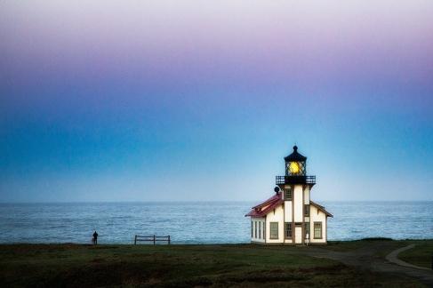 Point Cabrillo Lighthouse, Mendocino, CA