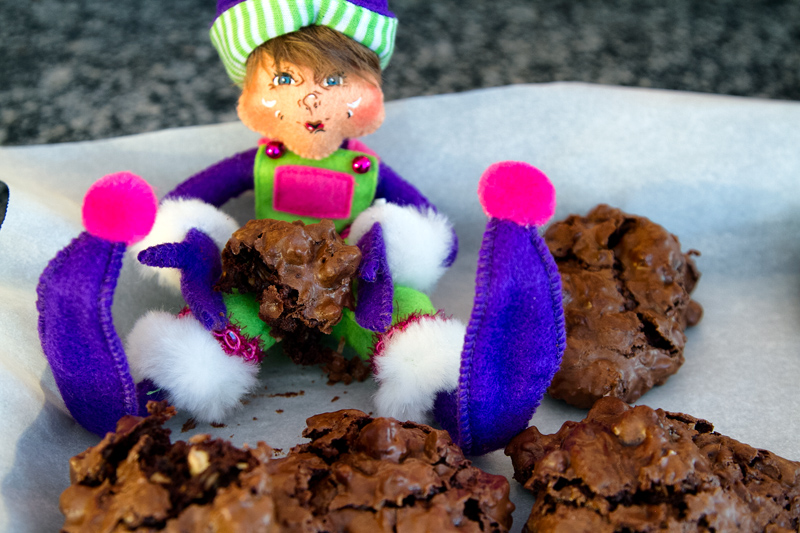 Flourless Chocolate Coconut Almond Drops and Elfin Magic for the ...
