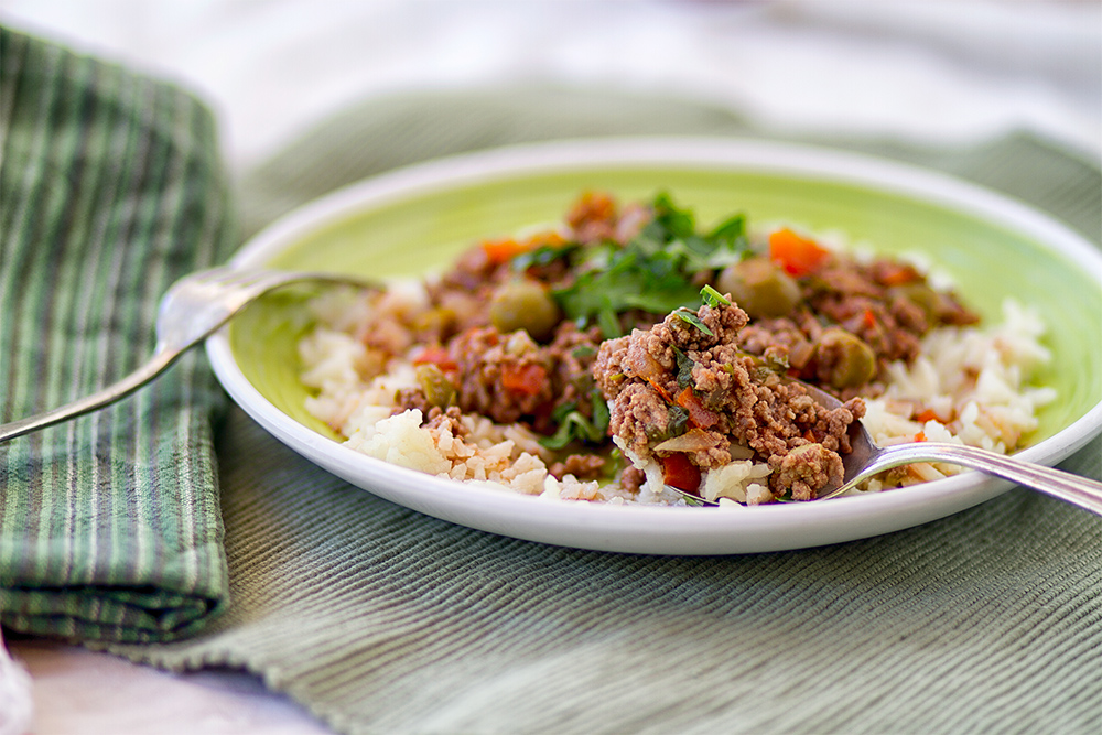Crock Pot Picadillo and a Cold Winter Day | We Call Him ...