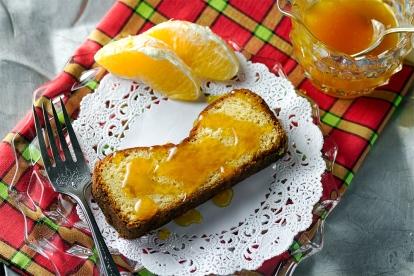 Toasted Orange Macadamia Nut Bread
