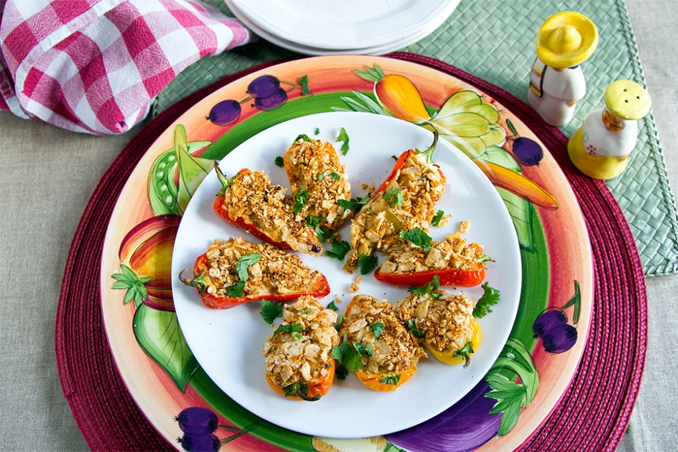 Plate o'pepper poppers