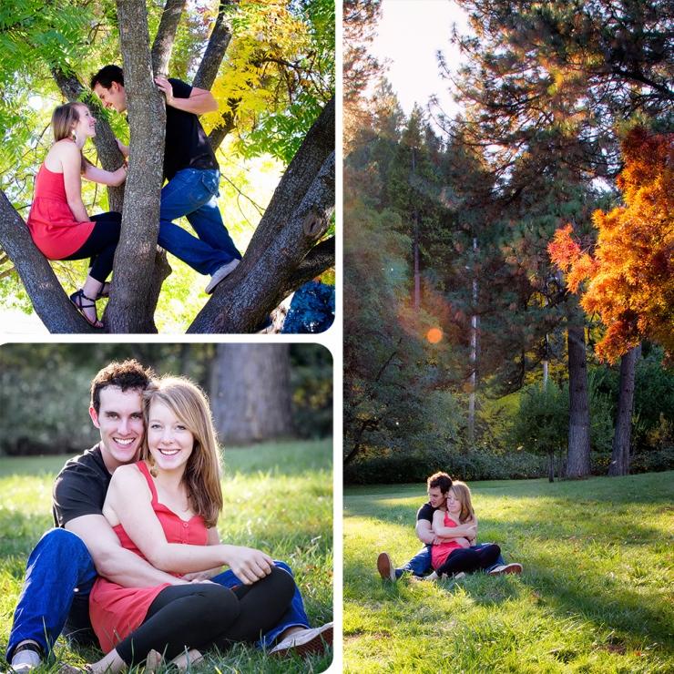 A few photos I took for their engagement
