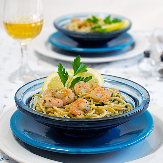 Scampi for two