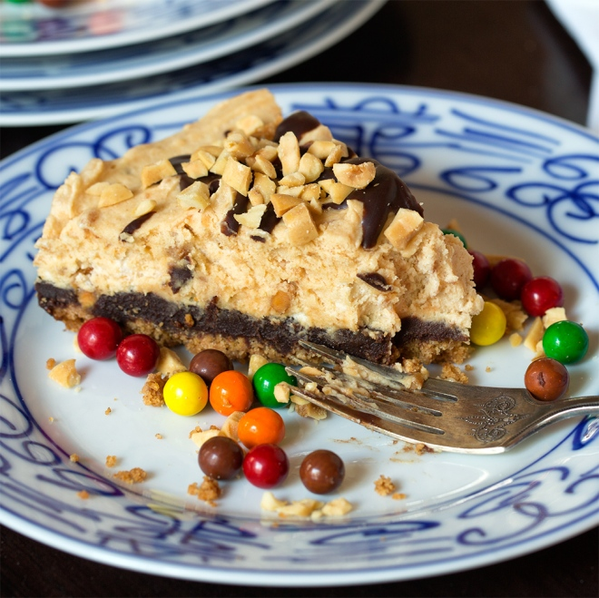 Crunchy and peanut buttery