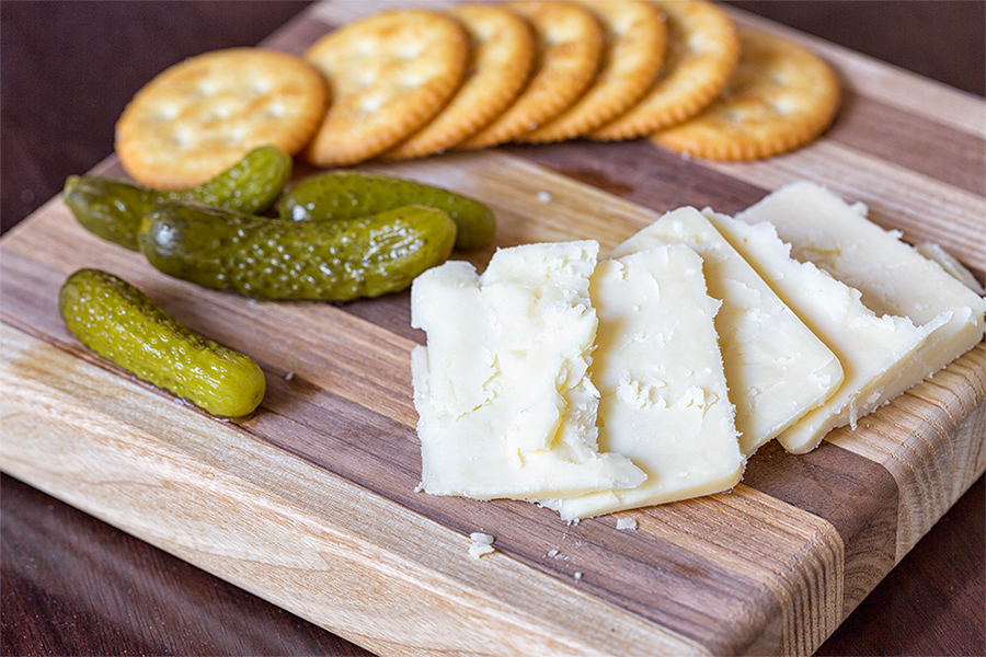 Cheese and Crackers and Pickles