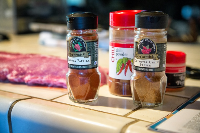Spices are crucial to this recipe