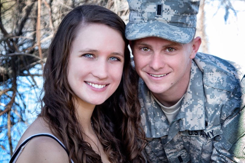 Thank you for your service and sacrifice, David and Laura.