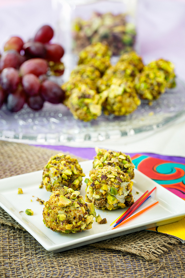 Serve them with unwrapped grapes on the side