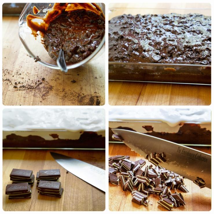 chocomint poke cake 1
