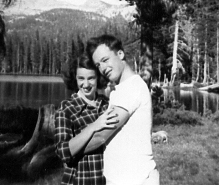 My mom and dad at Fallen Leaf Lake when they became engaged