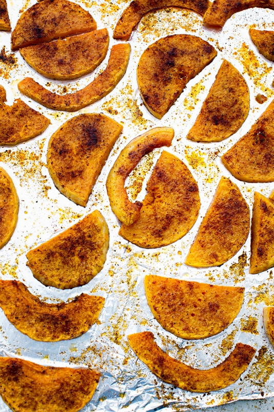 Chile Roasted butternut squash
