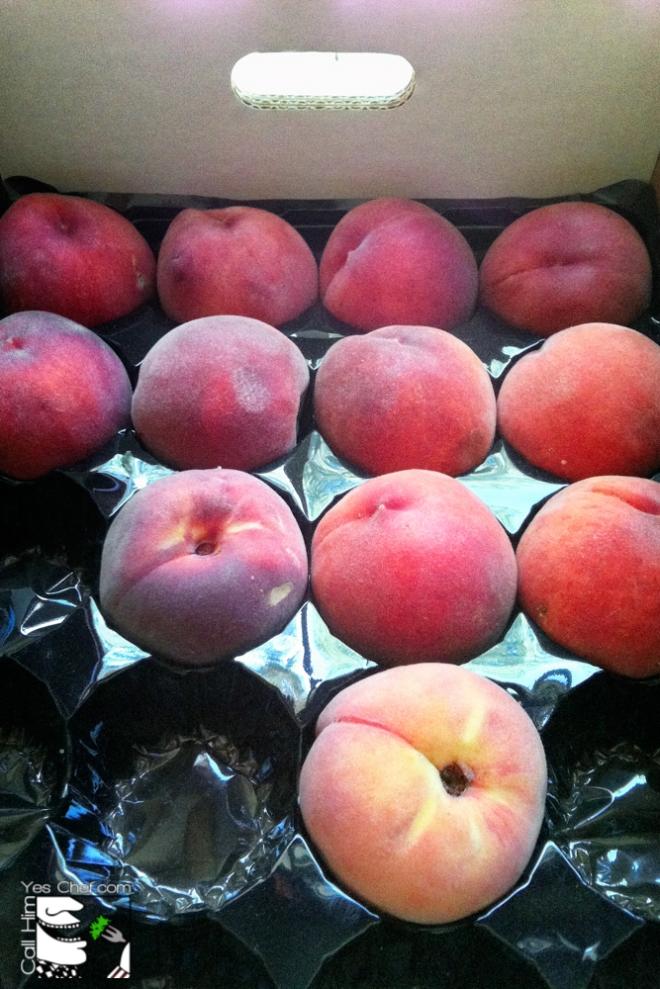Beautiful Box O'Peaches