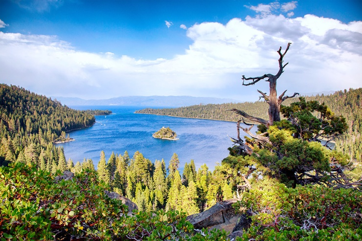 View from the top, overlooking Emerald Bay