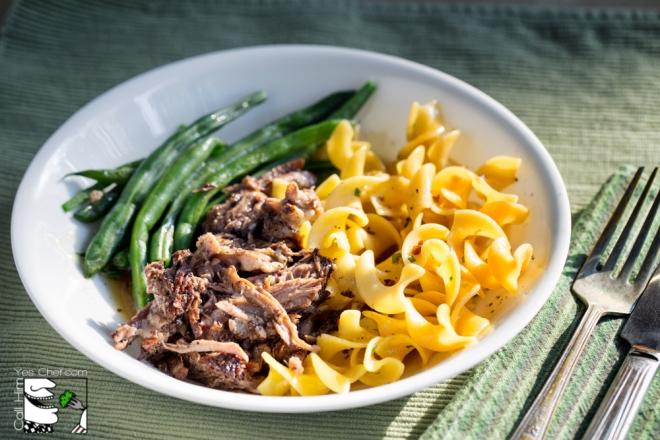 Crock Pot Balsamic Roast Beef