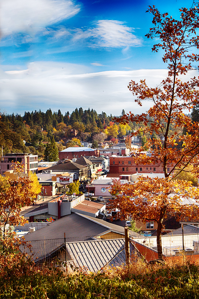 View of Placerville from the Old City Cemetery