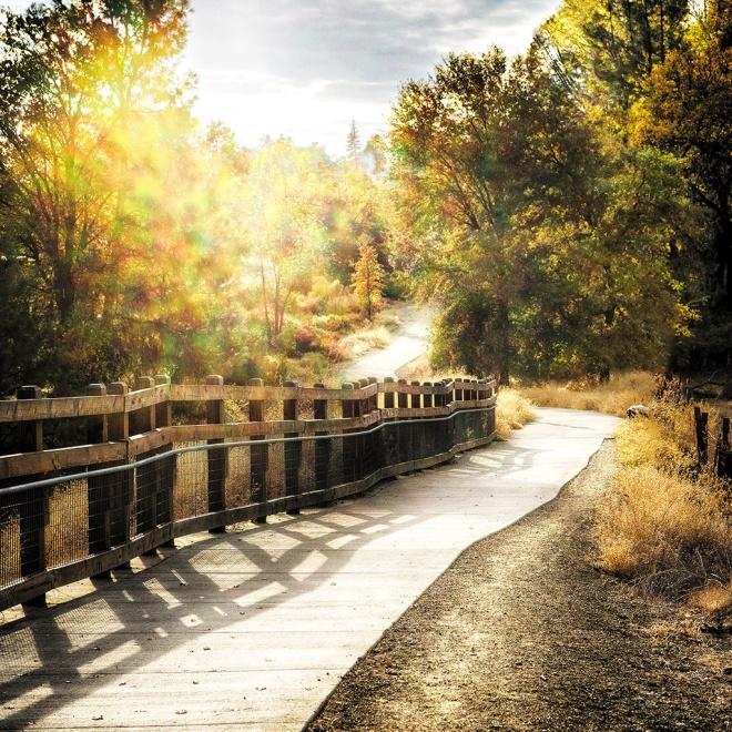 El Dorado Trail near Missouri Flat Road in Placerville