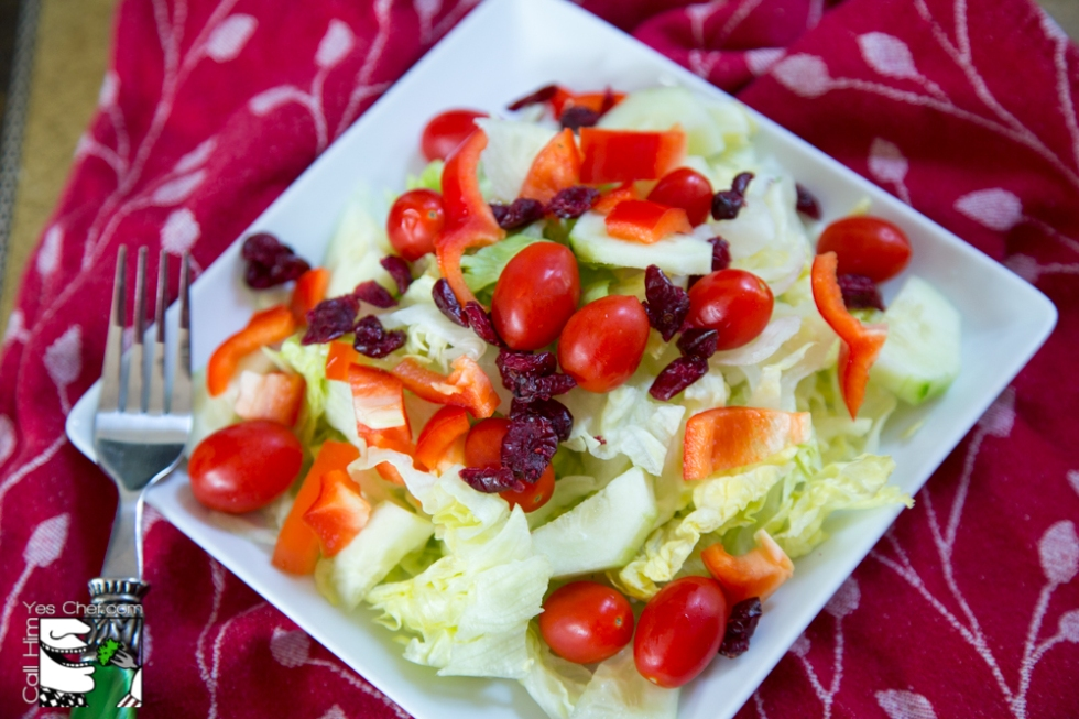 Bare bones salad