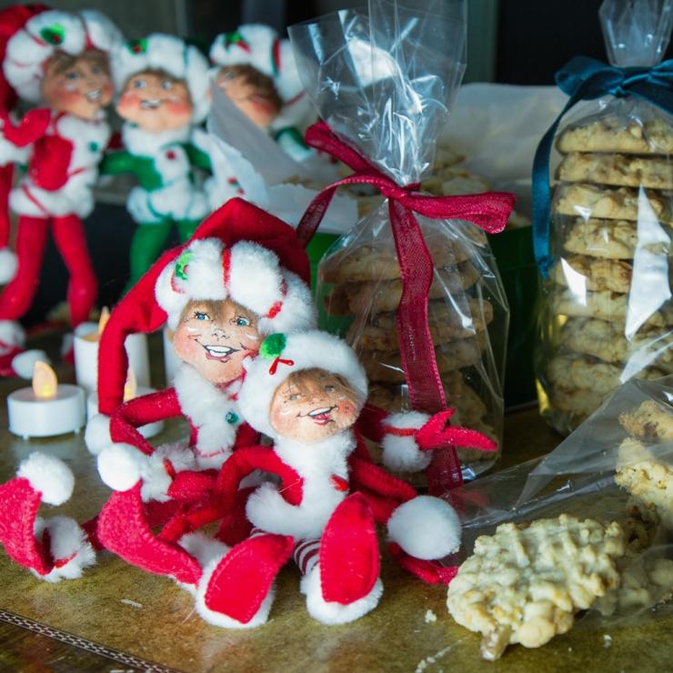 Edmond Elf and Elvis Elf love these cookies