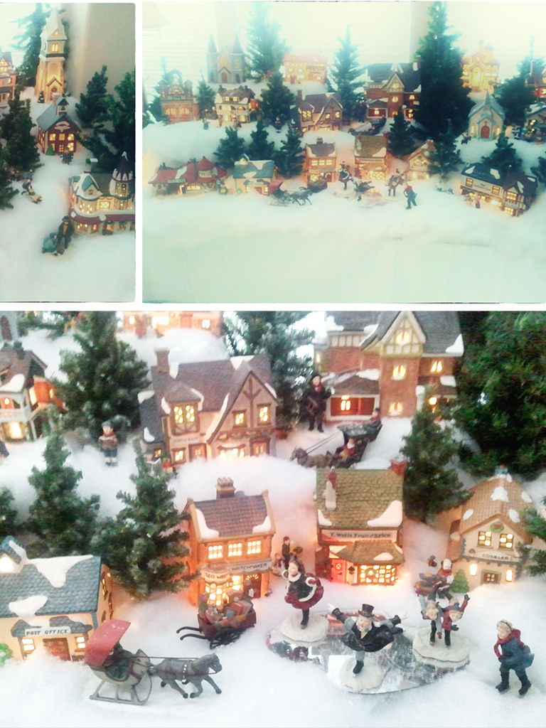 Foster Family Christmas Village