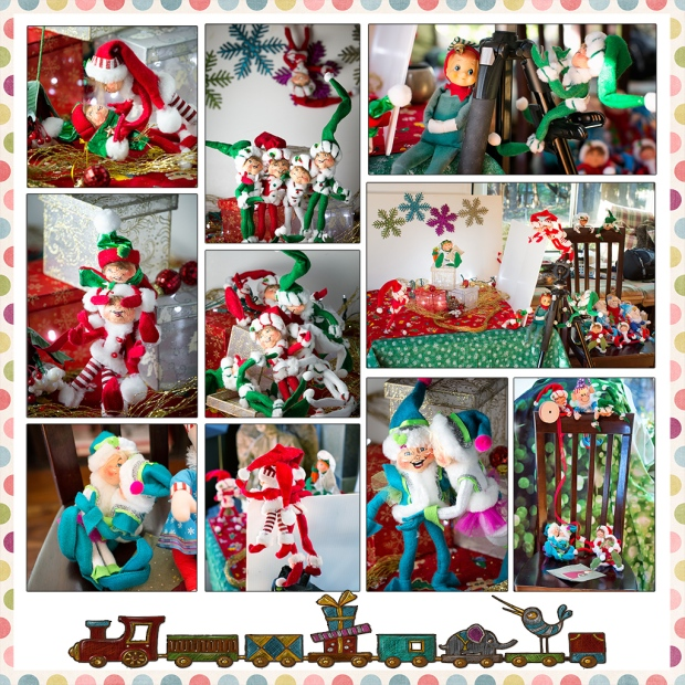 Elf Photo Shoot Out-Takes