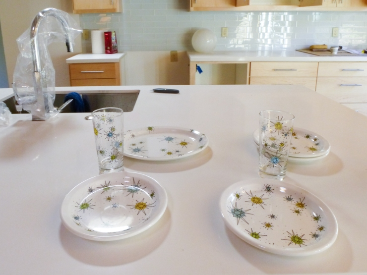 George Jetson inspired Mid Century Modern dinnerware