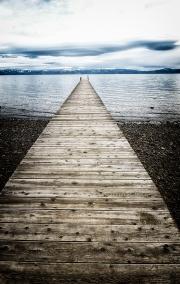 The long, long pier