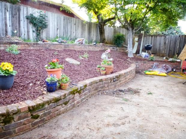 After: Back yard April, 2014