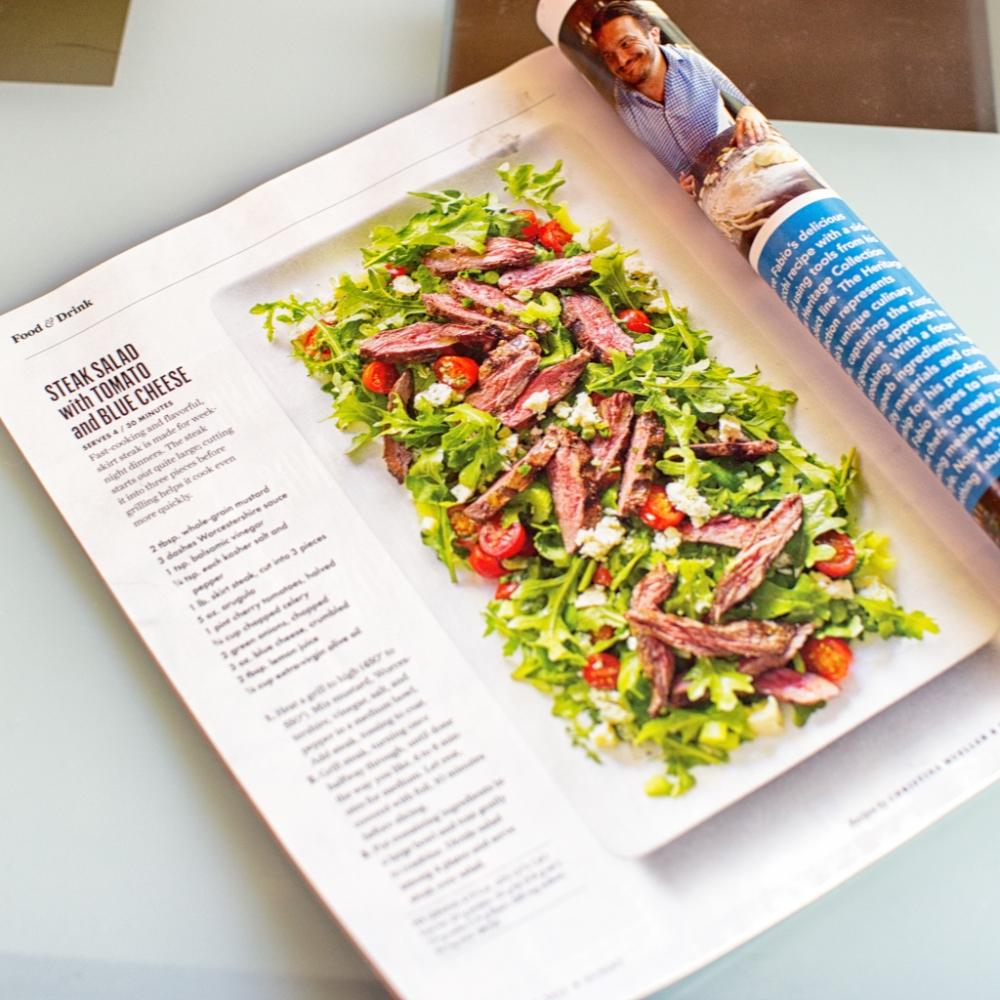 Skirt Steak Recipe from Sunset Magazine