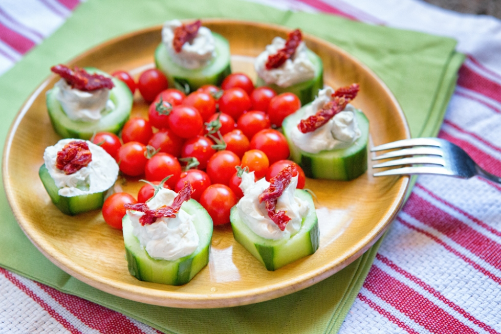 Quick, cool appetizer for a summer day