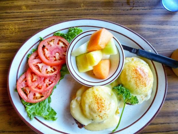 Eggs Benedict from Bert's Cafe
