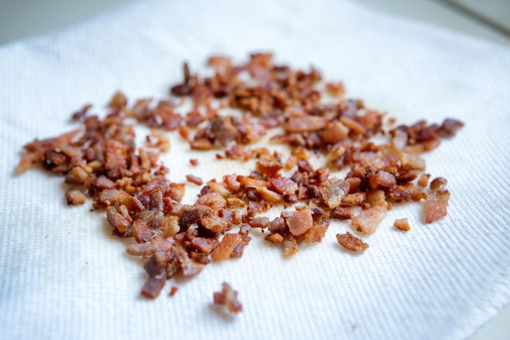 crisp up the bacon
