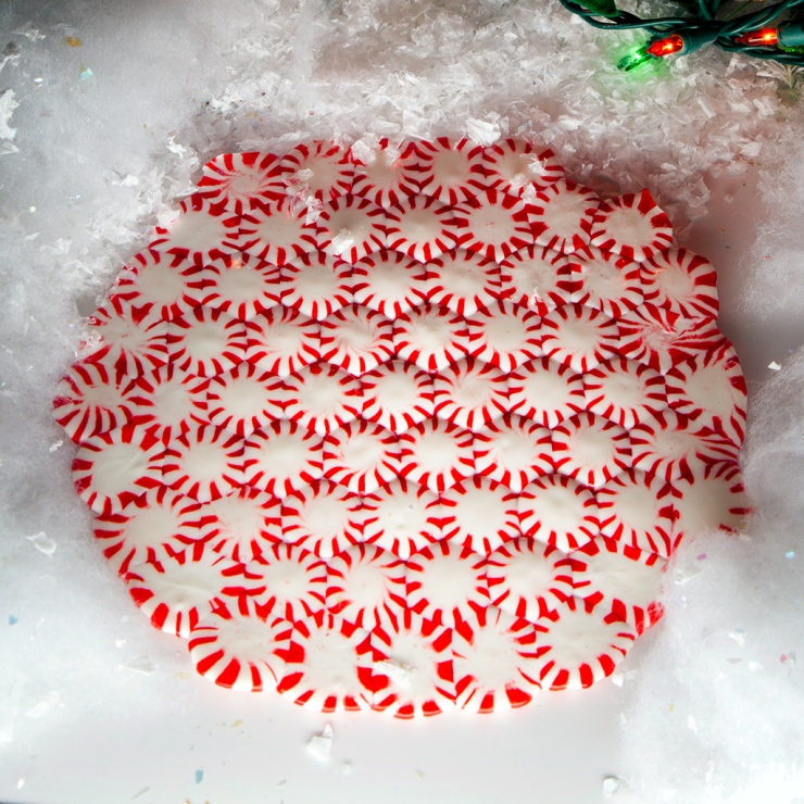 "Peppermint ""plates"""