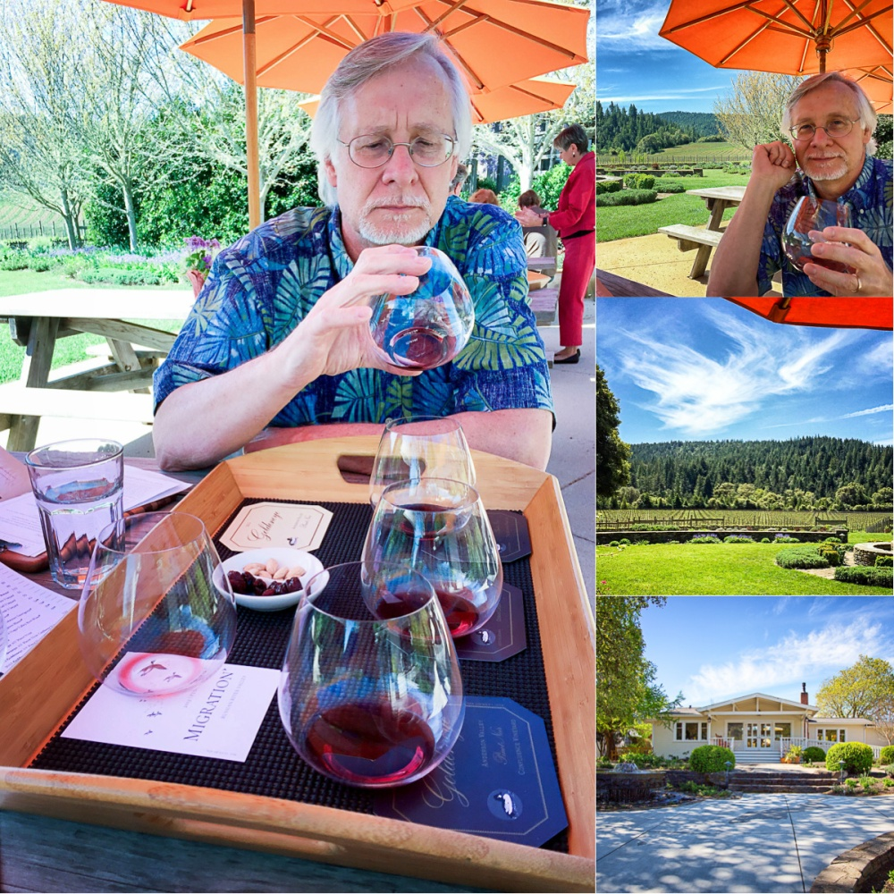 Wine Tasting at Golden Eye Winery