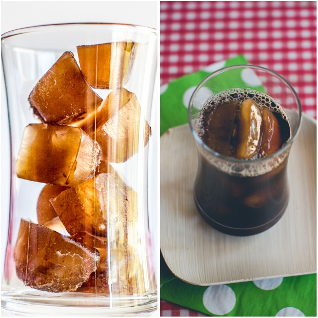 Coffee Ice Cubes for Iced Coffee