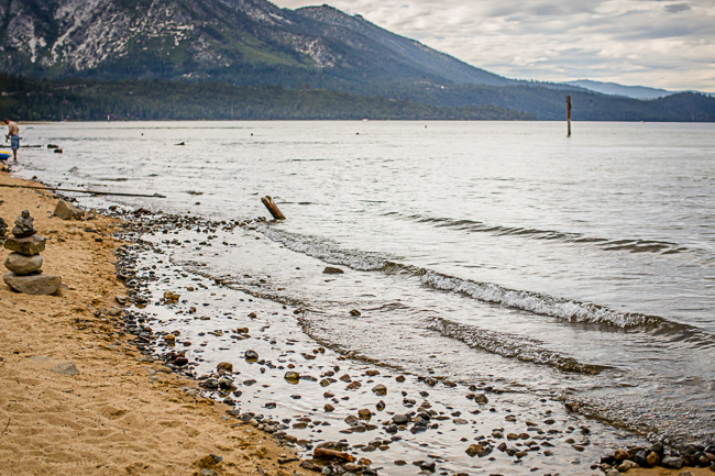 The Beach at Lake Tahoe