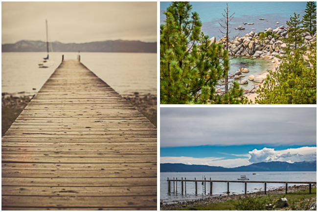 Scenes of Lake Tahoe